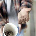"""""""Brother, can you spare some change?"""" is a common refrain of those living in poverty. (Photo courtesy of PhotoBucket)"""