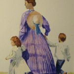 The Officer's Wife (Julia Grant and children)
