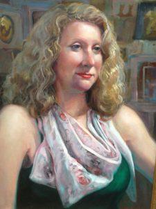 Portrait by Jane Mudd