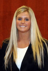Lacee Floyd, a recent William Woods University graduate, is now an associate wealth manager.
