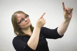 American Sign Language interpreting is one of the unique programs of study offered at William Woods.