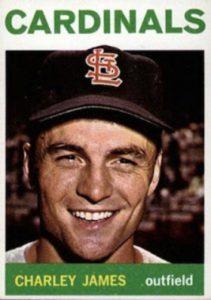 Charlie James baseball card
