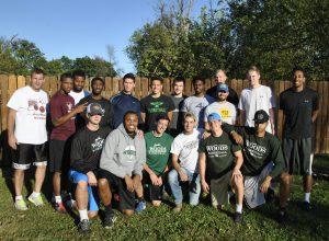 WWU men's bb team