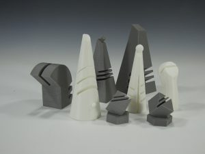 """Gender Chess"" by Larry Burditt of Central Michigan University"