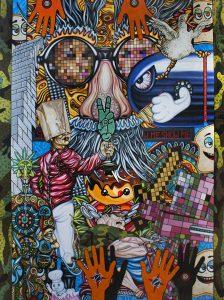 """Godsa Bullet Ferguson"" by Tom Whalen of Lincoln College (Illinois)"