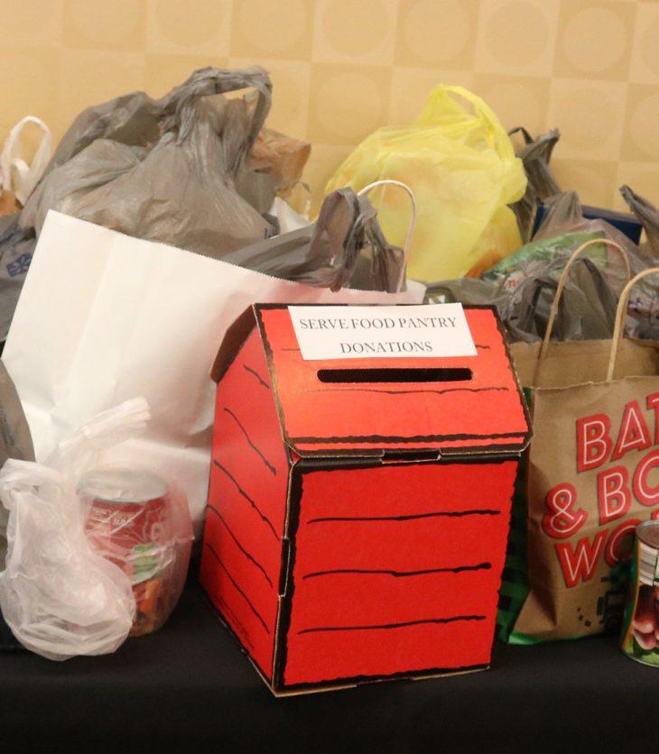 WWU Community provides 360 pounds of food to SERVE