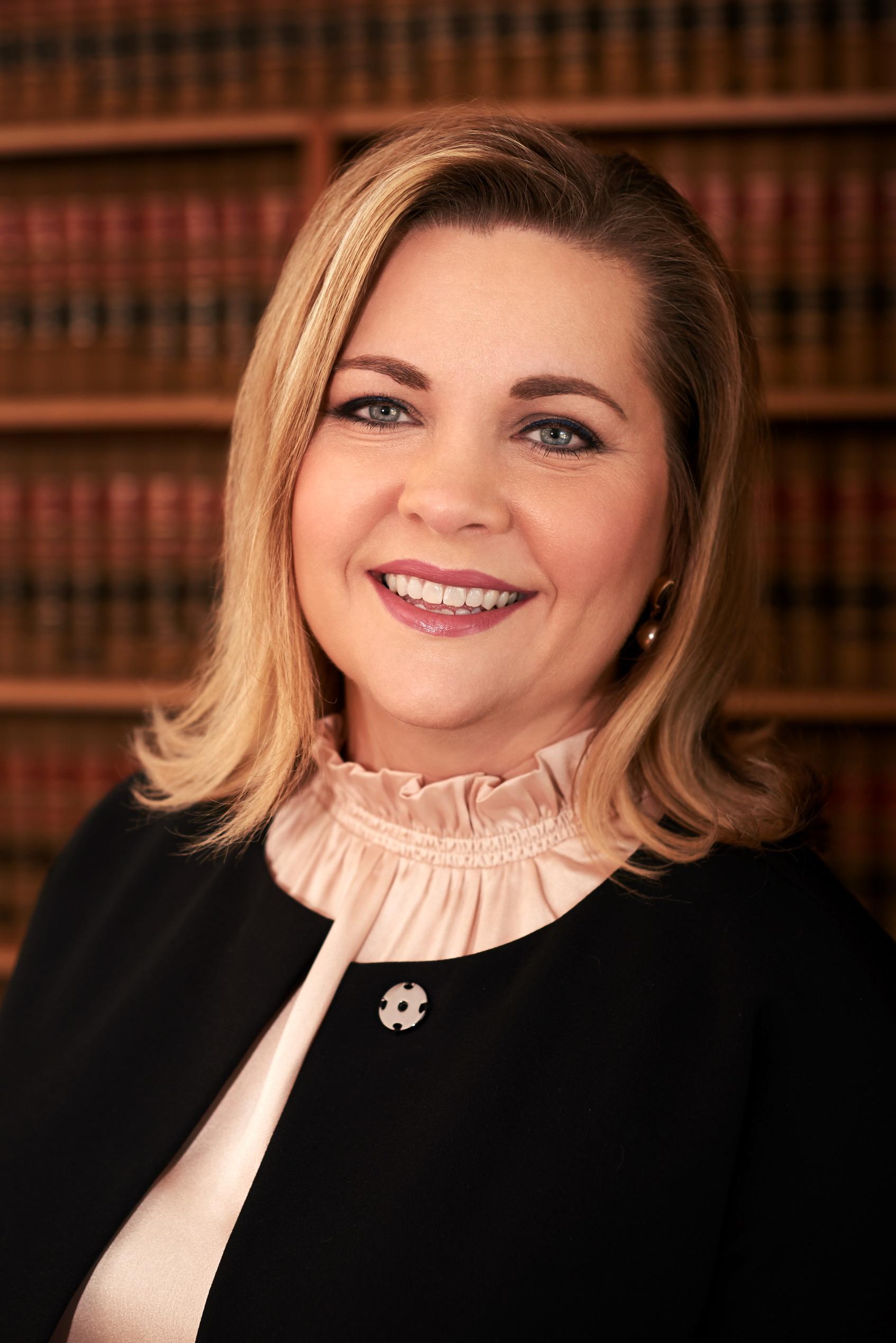 Headshot of Judge Broniec
