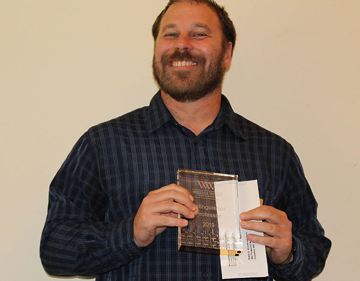 Robin Hirsch-Jacobsen with award
