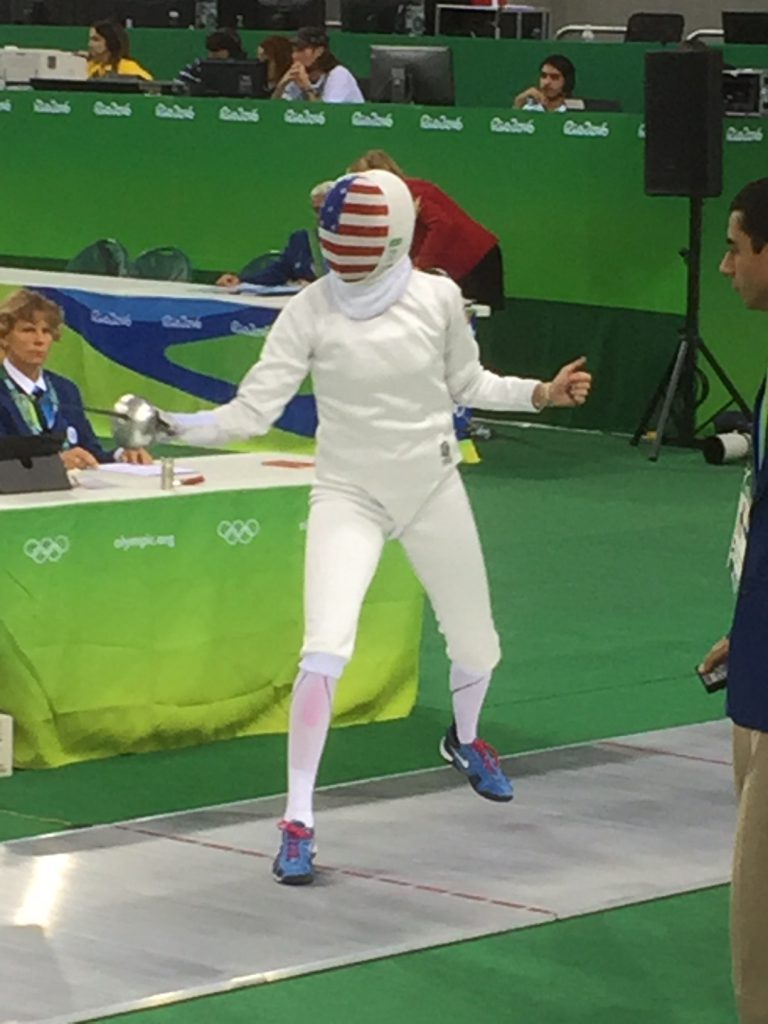 Fencer at Rio Olympics