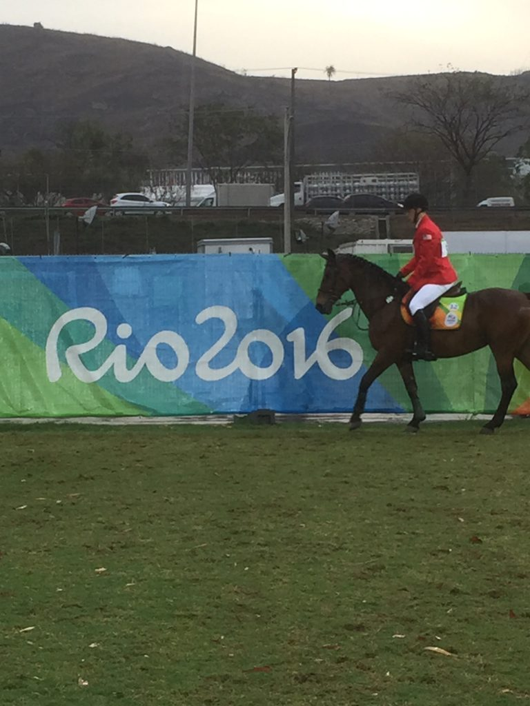 Horse and rider at Rio Olympics