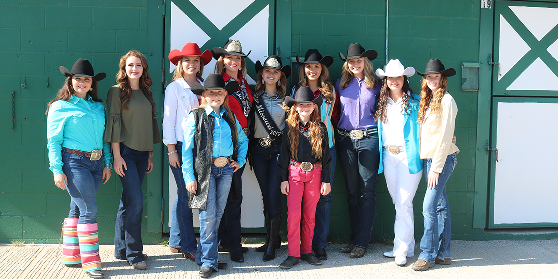 Miss Rodeo Missouri Pageant Association at William Woods