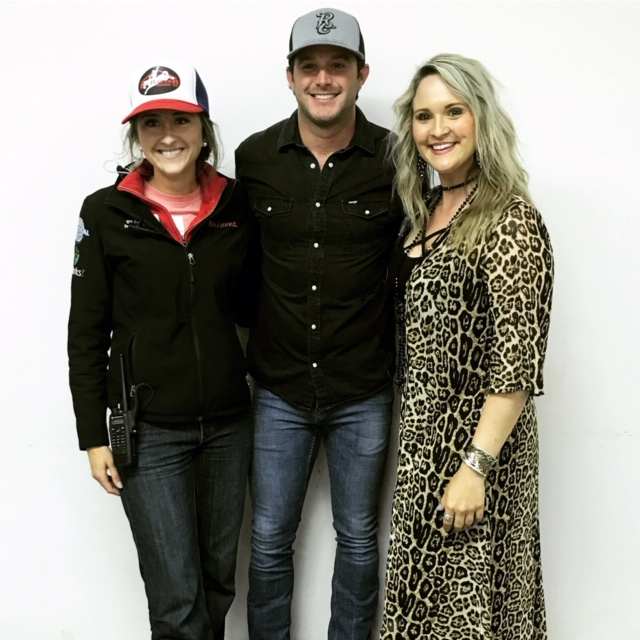 Ashley Bauer with other rodeo members