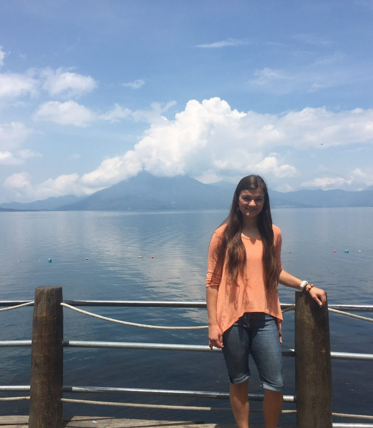 Caitlin Cook '20 in Guatemala
