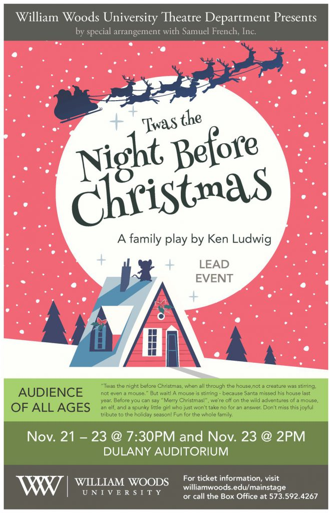 Poster for Twas the Night before Christmas