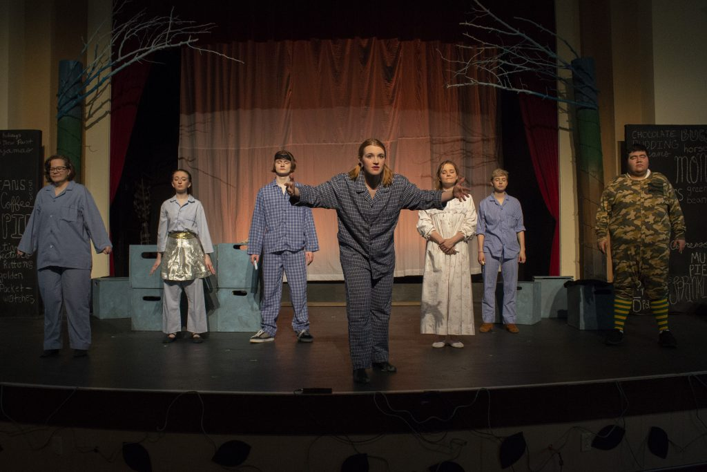 Picture of Adrianna Koty in a theatre production